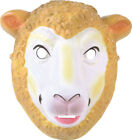 Halloween Masquerade Fancy Party Sheep Fox Pig Chimp Donkey Animal Plastic Mask