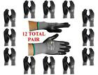G-Tek MaxiFlex 34-874 PIP Seamless Knit Nylon Gloves - 12  Pairs - Choose Size!