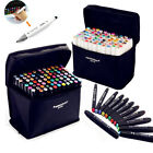 80 Colors Artist Dual Head Sketch Copic Markers Set For School Drawing Sketch