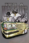 """""""It's A Dogg Thang"""" Bulldog Gangsters Lowrider Car Urban Street Art Style Poster"""