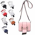 Ladies Faux Leather Cross Body Messenger Bag Fringe Shoulder Bag Handbag MA35079