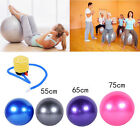 55/65/75cm Yoga Gym Fitness Ball Aerobic Abdominal Exercise Pilates Balance image
