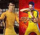 Bruce Lee Classic Game Of Death Costume Kung Fu Yellow Jumpsuit Uniform