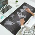 Extended Gaming Mouse Pad,Large Size 35 x16 inches (World Map Edge) US SHIP