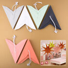 "11"" 3D Paper 9 Point Star Christmas Wedding Party Home Garden Hanging Decoration"