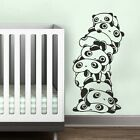 Cute Panda Nature Wall Decal Inspired Vinyl Kid Room Removable Art Decor 45