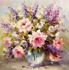 Animals Flowers DIY Acrylic HandPaint By Number Kit Oil Painting Art Wall Decor