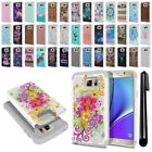 For Samsung Galaxy Note 5 N920 Hybrid Bumper Hard TPU Phone Case Cover + Pen