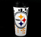 Brand NEW NFL Licensed Team HYPE Logo 32 oz Acrylic Travel Mug Cup You Pick Team on eBay