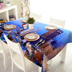 Night Is Coming 3D Tablecloth Table cover Cloth Rectangle Wedding Party Banquet