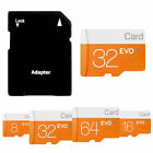 32GB 64GB 128GB EVO Memory Micro Class 10 SD TF Card Speicherkarte mit Adapter