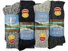 4 Mens PENNINE WALKER Wool Rich THERMAL Walking Boot Socks UK 6-11
