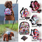 New Vogue Pet Bag Backpack Outdoor Travel Carrier For Dog Puppy Cats With Leash
