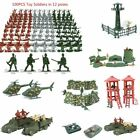 Hot+100Pcs+Military+Soldiers+Army+Men+Figures+12+Poses+Aircraft+Tanks+Kids+Toys