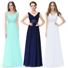 Ever-Pretty Formal Long Party Dress Backless Bridesmaid Wedding Prom Gown 08854