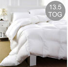 13.5 TOG HEAVY WINTER WARM HOLLOW FIBRE QUILT / DUVET ALL SIZES AVAILABLE!!!