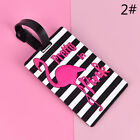 Flamingo Luggage Tag Travel Accessories Suitcase ID Address Holder BoardingP&T