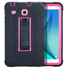 Hybrid Rugged Shockproof Kids Safe Stand Case For Samsung Galaxy Tab E 9.6 T560