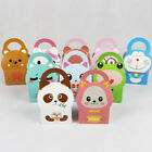 10pcs/set Paper Gable s Candy Cake Box Wedding Shower Birthday Party Gift Bag