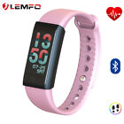 New LEMFO F600 Smart Band Activity Tracker Blood Oxygen Pressure For Android iOS