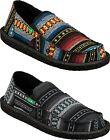 Sanuk Men's Vagabond X RR Funk Blanket Canvas Slip Ons Sizes 9 10 11 12 13 14