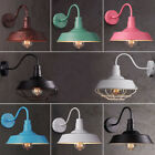 Industrial Retro Large Wall Sconce Wall Lamp Loft Metal Fixture for Restaurant