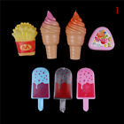 Ice Cream Popsicles Chips Barbie Doll Toy Kitchen food Play Doll toy for b EC