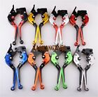 Folding CNC Clutch Brake Levers for Triumph Sprint GT RS ST Street Thruxton R $27.98 USD