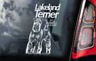 Lakeland Terrier - Car Window Sticker - Dog on Board Decal Sign Gift Idea -  V01