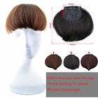 Machine Made Natural virgin Clip In human hair Extension hair bangs Fringe