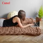 New Handmade Thick Line Chunky Knitted Blanket Wool Yarn Throw Comfy Home Decor