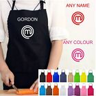 PERSONALISED NAME KITCHEN MASTERCHEF APRON COOK NOVELTY MASTER CHEF TV COOKING