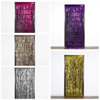 3 ft x 8 ft Sparkling Metallic FOIL Fringe CURTAIN Wedding Party Decorations