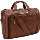 "McKlein USA Irving Park 15.6"" Laptop Case 2 Colors Non-Wheeled Business Case NEW"