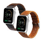 For Apple Watch iwatch Series 1 2 3 Band Genuine Leather Wristband 42mm 38mm