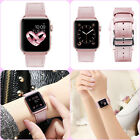 Pink Dream For Apple Watch iWatch 1 2 3 Band Genuine Leather Strap Lady Girl