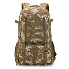50L Military Tactical Hiking Camping Backpack Outdoor climbing Rucksack Travel