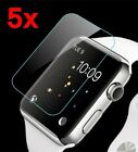 5x For Apple Watch 3/2 Premium Slim Tempered Glass Film Screen Protector 38/42mm