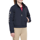 Ariat Childrens Waterproof Stable Jacket - Navy Blue
