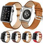Genuine Leather Watch Band Strap Bracelet For Apple Watch Series iWatch 1/2/3
