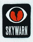 Skywarn Embroidered Patch 3x2.5 Embroidery Ham Radio Amateur Danny & LuAnn
