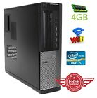 PC Computer Dell OptiPlex 990 Intel i5 2nd G. 250GB-1T 4GB DVDRW Windows 7 WIFI