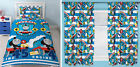 "Thomas Tank Engine Patch Single Duvet Bedding 66""x72"" Curtains Rug - 4 Choices"
