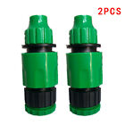 Garden Water irrigation Hose Quick Connector Micro Irrigation Adapter Connectors
