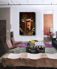 American Western Rodeo Saddle Canvas Art Poster Print Home Decor