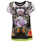8801U maglia donna SHOP ART nero t-shirt woman