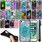 "For Apple iPhone 8/ iPhone 7 4.7"" Black TPU SILICONE Protective Case Cover + Pen"