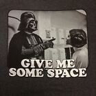 """STAR WARS Men's T-shirt """"Give Me Some Space"""" Darth Vader & Princess Leia S,L,2XL $9.49 USD on eBay"""