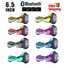 6.5'' Hoverboard Bluetooth Speaker LED STAR FLASHING WHEELS Scooter UL Listed