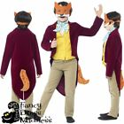 Boys Fantastic Mr Fox Costume Roald Dahl Fancy Dress Outfit World Book Day